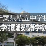 千葉県私立中学校|東海大学付属浦安高等学校中等部の情報